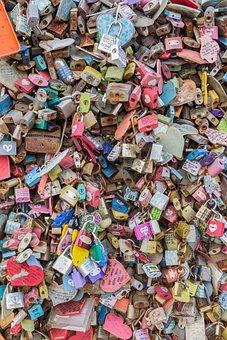 Lock, Key, Memory, Locking, Love, Lovers, Namsan Tower