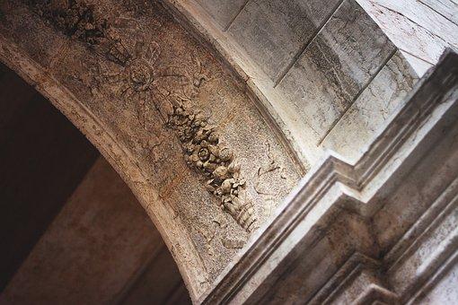 Venice, Emboss, Architecture, Monument, Lake Dusia