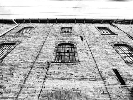 Window, Brick Wall, Old, Structure, Architecture, Wall