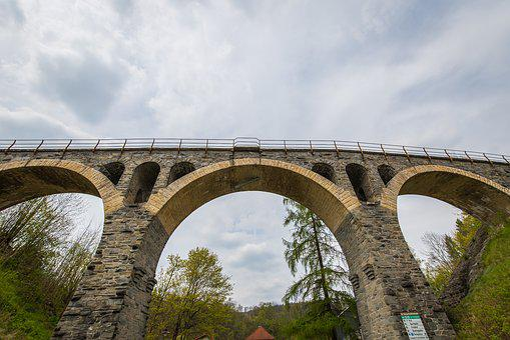 Bridge, Berkwerk, Train, Transport, Seemed, Railway