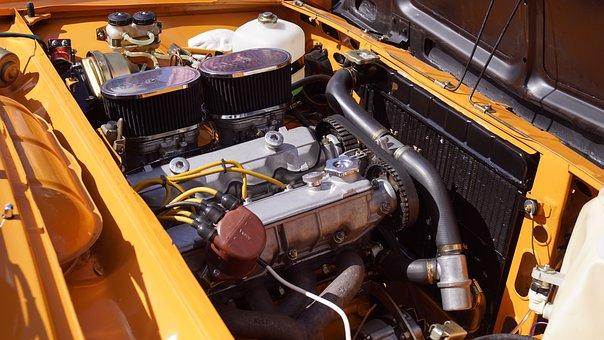 Engine, Retro, Old Auto, Old Car, Car, Retro Car