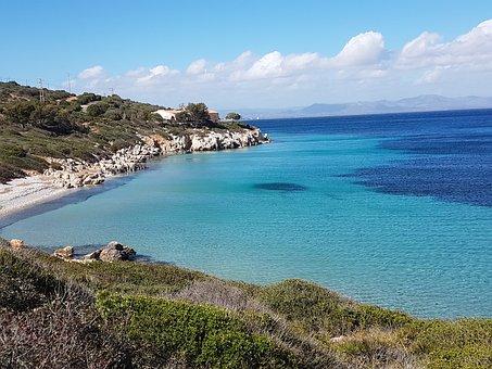 Sea, Sardinia, Maladroxia