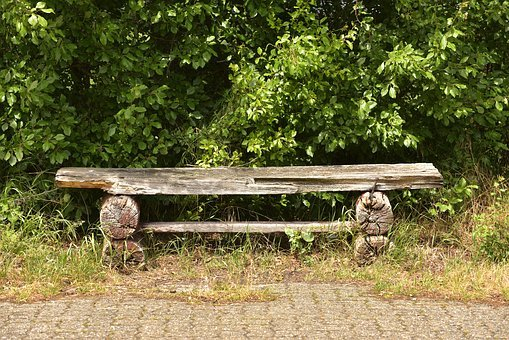 Park Bench, Bank, Old, Seat, Sit, Rest, Recovery, Bench
