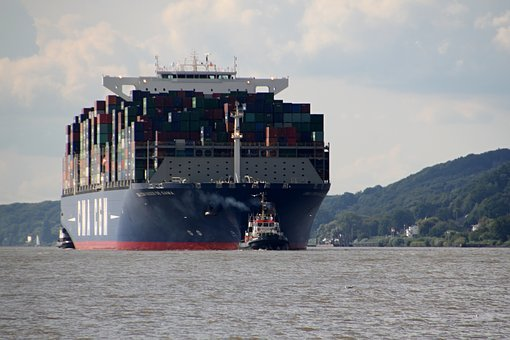Container, Ship, Container Ship, Freighter, Shipping