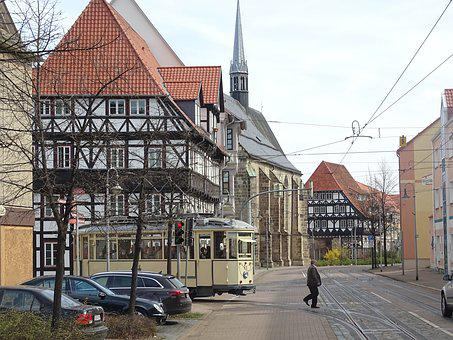 Tram, Old, Historically, Nostalgia, Traffic, Transport