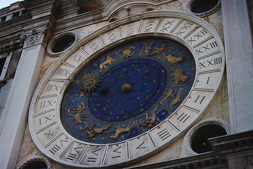 Venice, Square, The Holy, Brand, Clock, Architecture