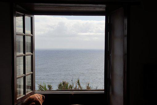 View, Window, Sea View, Tenerife, Vision, Water, Sea