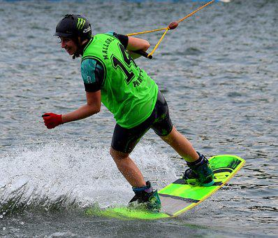 Wakeboard, Wakeboard Jersey, B360, Water, Water Sports