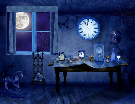 Photoshop, Photo Manipulation, Isolated, Clock