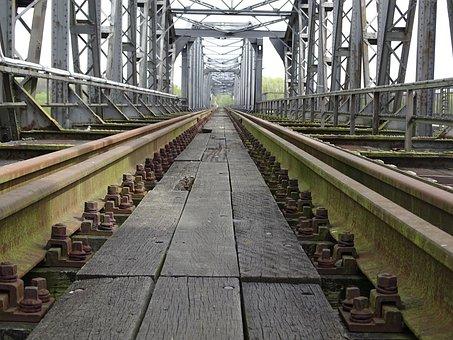 Bridge, Railway Bridge, Architecture, Railway