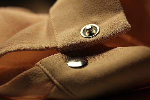 Shirt, Studs, Button, Ata, Bi