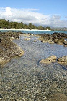 Beach, Ocean, Sea, Sand, Tropical, Coast, Landscape
