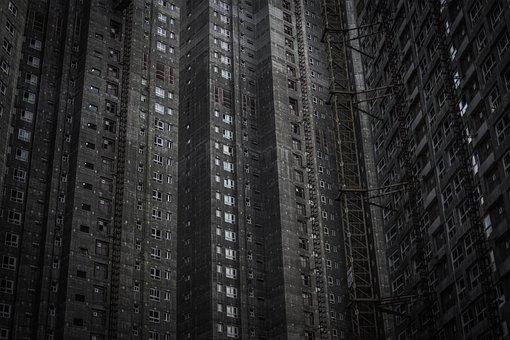 Apartment, Apartments, Building, Corporation, Grey