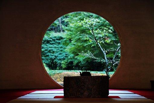Japan, Moon Court, Kamakura, Kanagawa