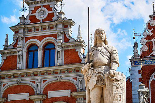 Riga, Latvia, Old Town, Riga Old Town, Building