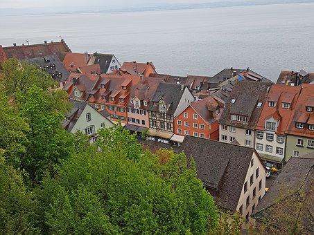 Meersburg, Lake Constance, Castle, Old Town, Lake