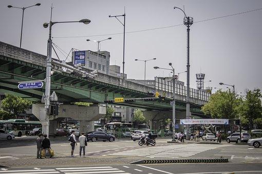 Street, Gil, Overpass, Pedestrian Crossing, Crossing