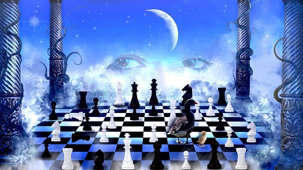 Play, Chess, Chess Board, Strategy, Photoshop