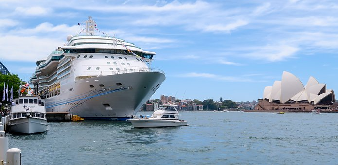 Ship, Sydney Harbour, Sydney, Australia, Nsw
