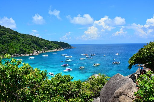 Sea, Island, Summer, Sky, Tourism, Beach, Vacation