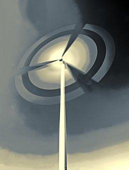Pinwheel, Wind Power, Energy, Environmental Technology