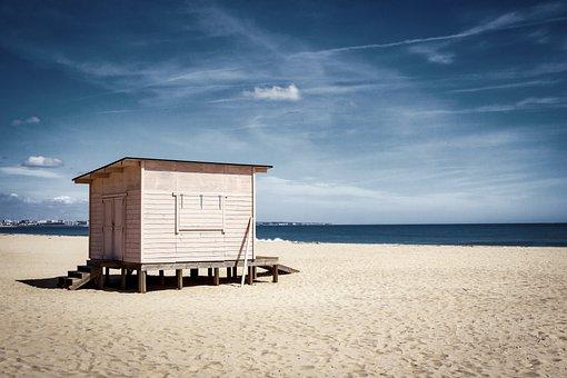 Beach, Portugal, Algarve, Baywatch