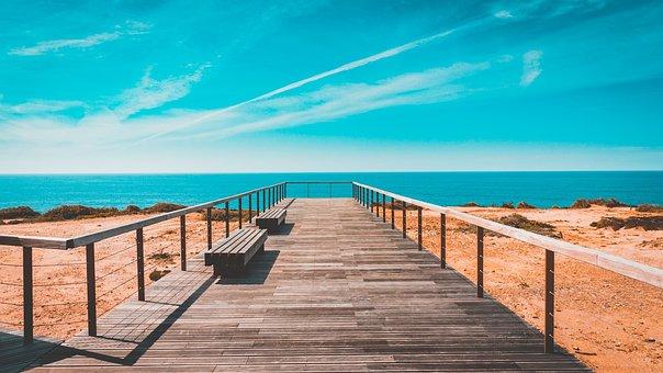 Portugal, West, Coast, Beach, Algarve