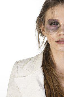 Women's, Make-up, Violence, Photography, Beauty Model