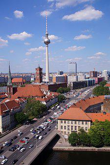 Tv Tower, Berlin, Alexanderplatz, Town Hall