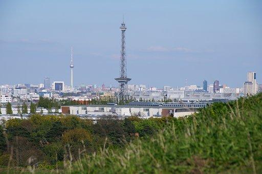 Radio Tower, Berlin, Tv Tower, City West, Landmark