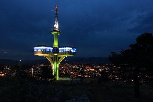 Montenegro, Podgorica, Telecom, Tower, Communications
