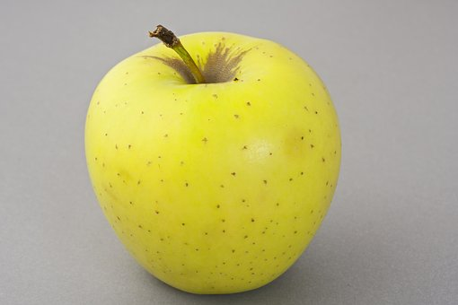 Apple, Yellow, Fresh, Fruits, Macro, Fruit, Vitamin