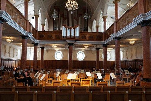 Church, Zurich, St Peter, Orchestra, Music, Religion