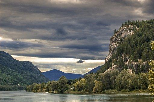Nakusp, Bc, British, Columbia, B, C, Canada, River