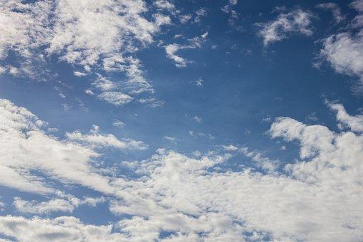 Clouds, Blue Sky, Blue, Sky, Nature, Summer