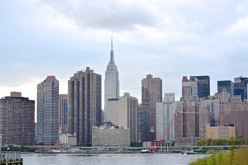New York, Skyline, Buildings, New York City