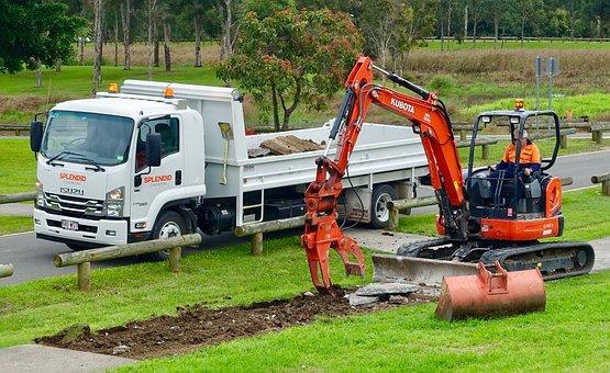 Machinery, Excavator, Equipment, Machine, Shovel