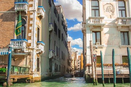 Italy, Venice, Canal, Life, Culture, Venezia, City