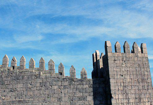 Castle, Pinnacle, Wall, Fortress, Middle Ages, Tower