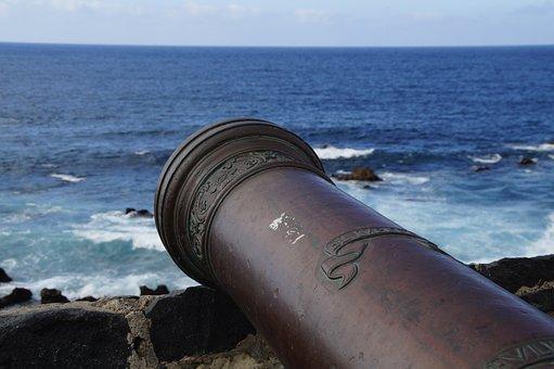 Gun, Defense, Naval Battle, Attack, Conquest