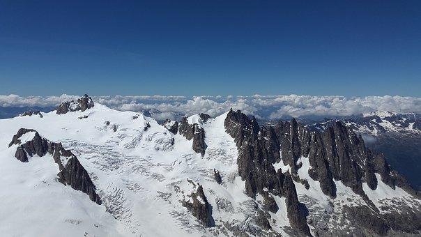 Aiguille Du Midi, You Aiguille Plan, Glacier