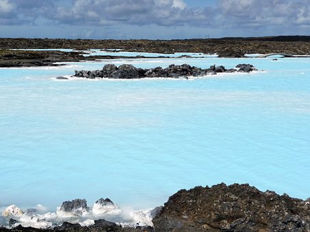 Blue Lagoon Iceland, Blue, Iceland