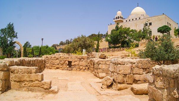Landscape, Amman, Jordan, House, Town, Building