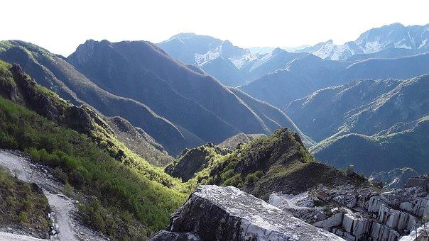 Carrara, Quarry, Marble, Quantum Of Solace, Mountain
