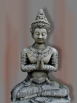 Buddha, Statue, Sculpture, Stone Figure, Art, Photoshop