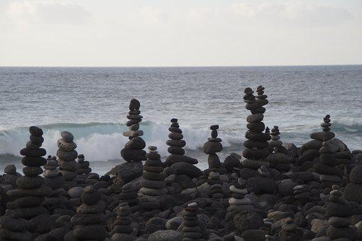 Rest, Stones, Towers, Stone Towers, Spirituality