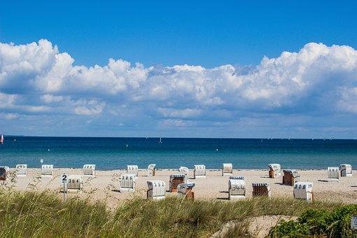 Beach, Baltic Sea, Nature, Sand Beach, Holiday, Coast