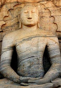 Stone, Buddha, Sri Lanka, Statue, Buddhism, Sculpture