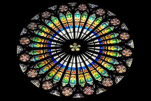 Window Glass, Church, Church Window, Window