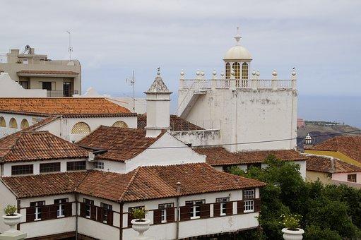 Cityscape, Homes, Building, La Orotava, Tenerife